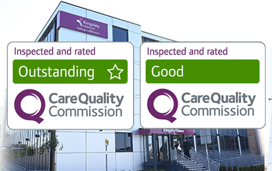 To achieve CQC good or outstanding ratings at 100% of our homes