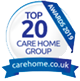 Top 20 Awards 2019 - Carehome.co.uk