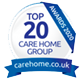 Top 20 Awards 2020 - Carehome.co.uk