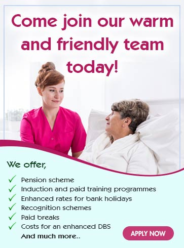 Join us today as carer, nurse, home manager, rgn at Kingsley care homes
